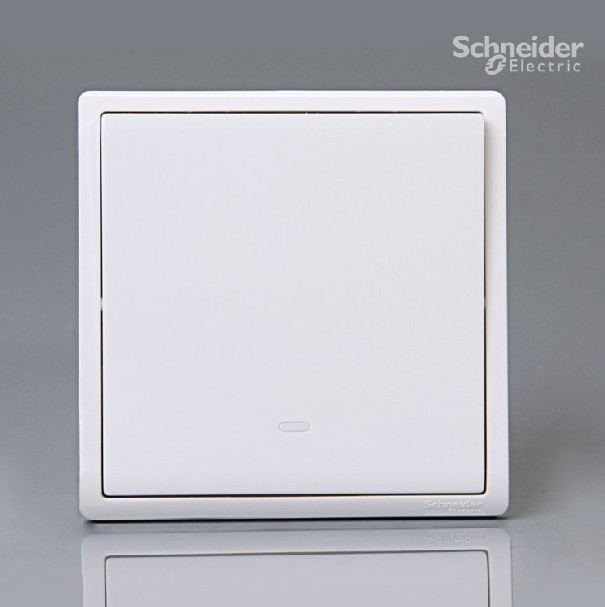 2PCS/lot Schneider switch socket Feng Shang white more than one ...