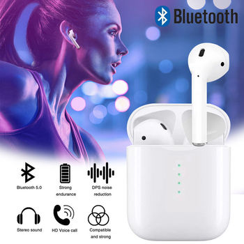 New TWS V5.0 Mini Wireless Headphones Bluetooth Earphones Touch control Earbuds with mic for iPhone Samsung xiaomi Android phone MINI