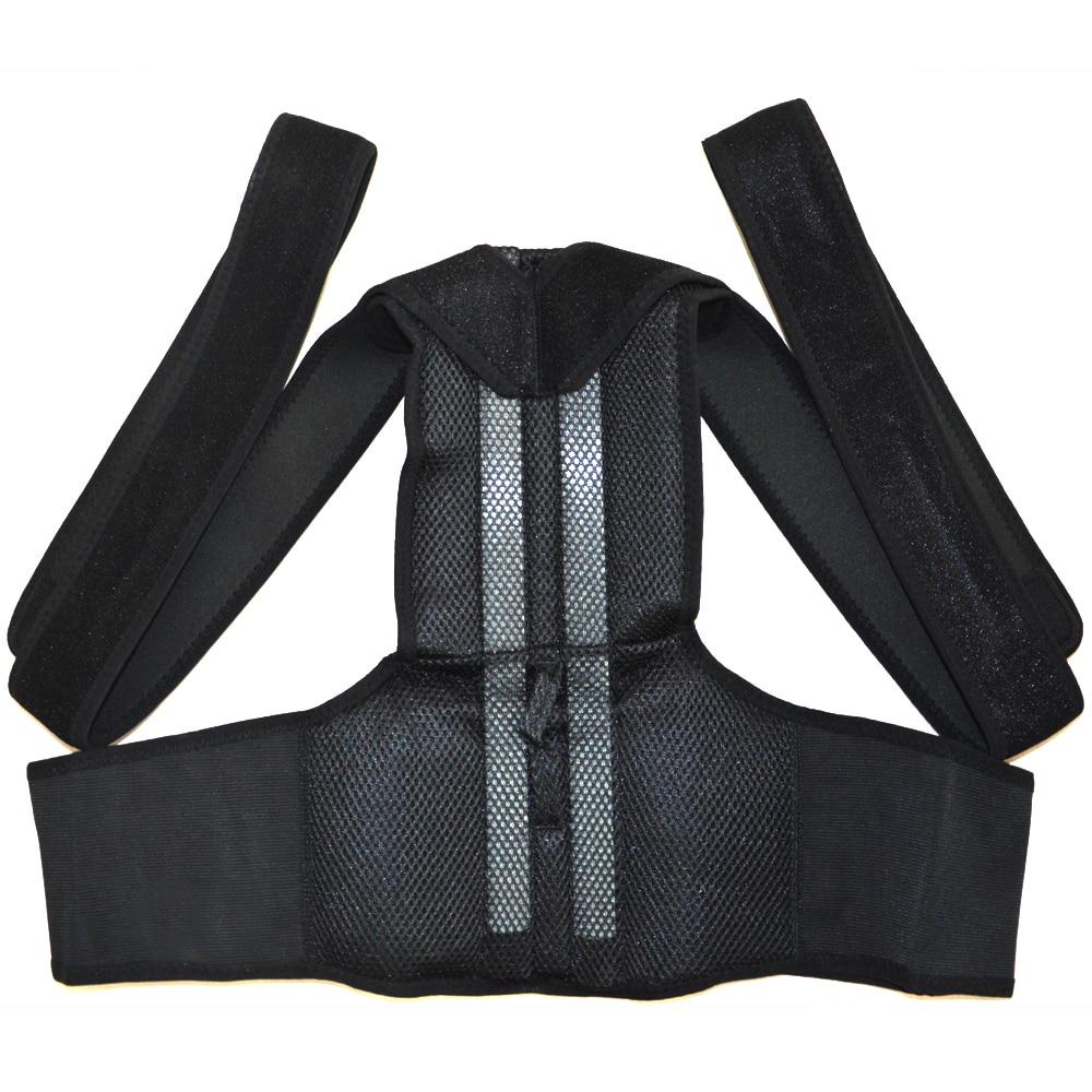 B003 Back Support Belt Orthopedic Posture Corset Back Brace Support Men Back