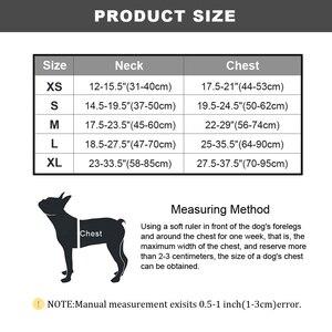 Image 5 - Harnais réfléchissant pour chien, en Nylon, sans traction, harnais K9, réglable et imprimé pour chiot, pour petits, moyens et grands chiots, de S XL