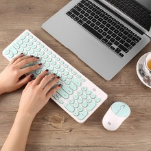 USB 2 4GHz Ultrathin Wireless font b Keyboard b font and 1500DPI Mouse Combo Set for