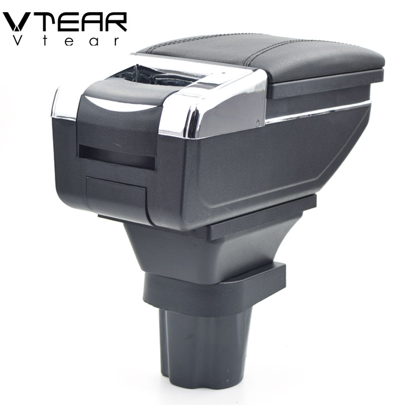 Vtear for Chevrolet Spark armrest box central Store content box products interior Armrest Storage car-styling accessories parts interior chevrolet spark accessories