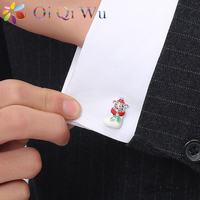 Christmas Socks Cubs Cufflinks Jewelry Cuff Buttons Interesting Modeling Men S Acc Sleeves Men S Christmas