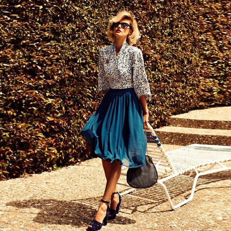 Прессованная юбка