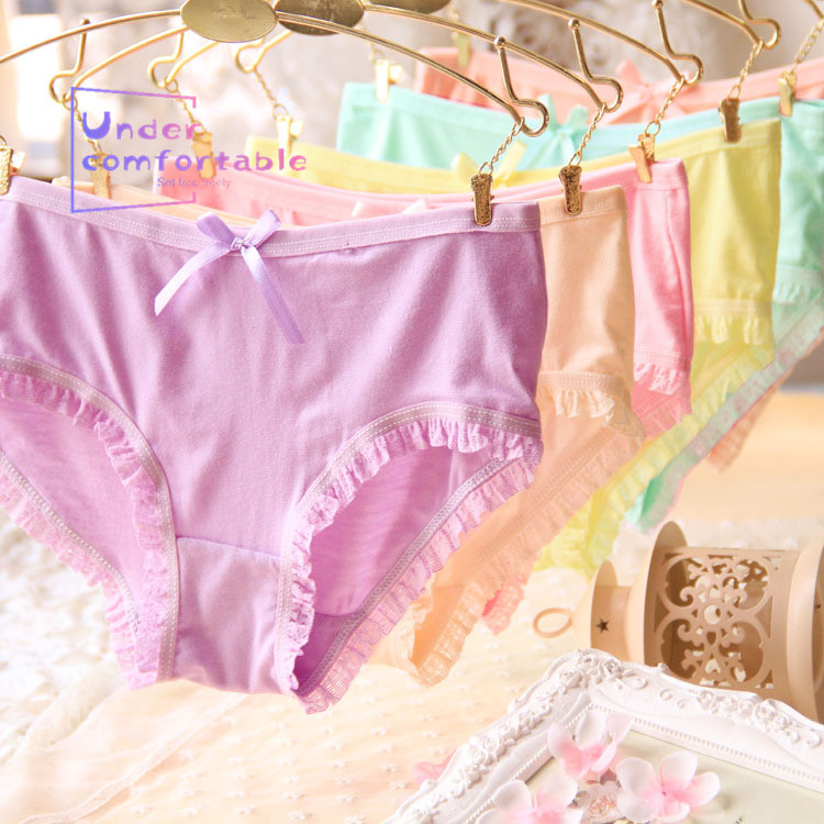 New Summer Lady Lingerie Candy Color Bamboo Fiber Girls Underwear Freshness Comfortable Panties Mid Rise Girl 39 s Briefs 801 in women 39 s panties from Underwear amp Sleepwears