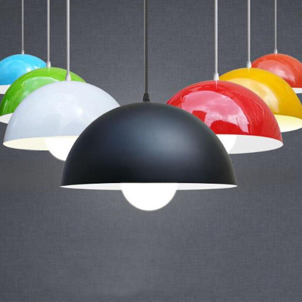 LED pendentif lumière En Aluminium de style Américain lampe creative et simple conception pour bar restaurant café salon hôtel lecture