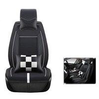 PU leather universal auto car seat covers for CITROEN Elysee C3 C4 Picasso C4l Citroen C5 Citroen seat covers auto accessories
