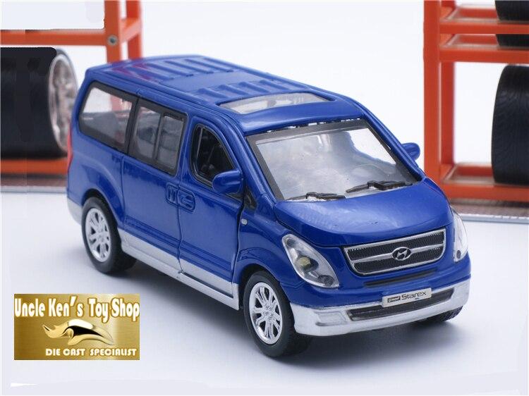 Hyundai starex diescast metal bil set, 1:38 skala modell fordon med 4 - Bilar och fordon - Foto 2