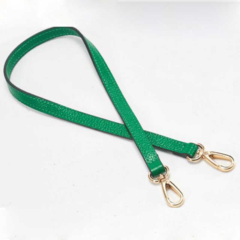 Имидо 55 см Пояса из натуральной кожи сумке Для женщин Замена лямками пояс сумки аксессуары части для сумки зеленый красный stp018