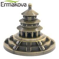 ERMAKOVA Metall Himmelstempel Peking Park Modell Figurine Chinesischen Famous Landmark Architektur Home Office Decor