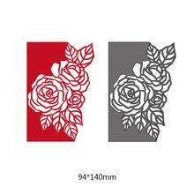 NewFashion Rose Flower Metal Die Cuts Cutting Dies Stencils For DIY Scrapbook Embossing Paper Cards Crafts