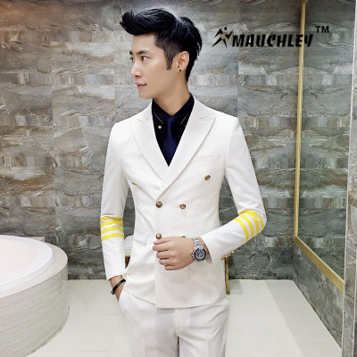 Aliexpress.com : Buy (Jacket Vest Pants) 3PCS/Set Men Suit With ...