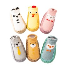 Baby Boy Girl Infant Spring Autumn Cotton Shoes Socks Cute C