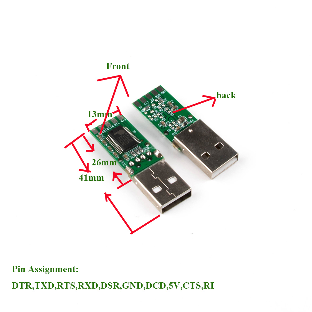 Rs232 Com Port Pinout Diagram Serial Cable Mini Usb Connector Pl Converter Adpater Module Prolific 1000x1000
