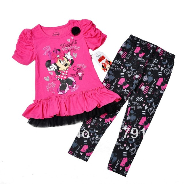 d75768573486 2013 childrens clothing sale kids christmas clothes girls dress kids clothes  for girl minnie mouse sets 2pcs tutu dress+leggings