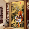Siberia Tiger DIY 5D Round Diamond Painting Embroidery Dmc Cross Stitch New Year Christmas Decoration
