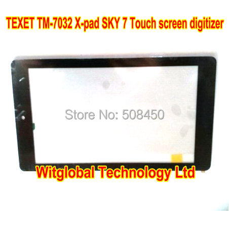 Original New touch screen 7 TEXET TM-7032 X-pad SKY 7 Tablet Touch panel Digitizer Glass Sensor Replacement Free Shipping new for 7 texet x pad navi 7 5 3g tm 7846 tablet capacitive touch screen digitizer glass panel sensor replacement free shippi