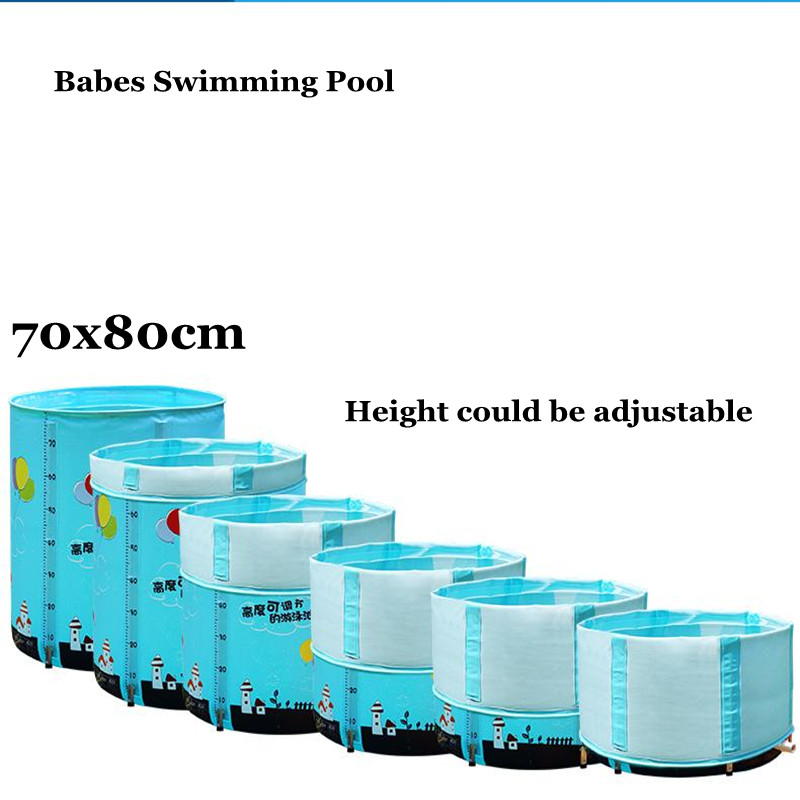 2017 Summer New Adjustable Folding Babies Swimming Pool Baby Pool Piscina Piscine Alloy Stent Infants&Children kids Swim Pool bestway round baby pool baby wading pool thick folder mesh stent pool children bathing pool 152 38cm