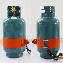 15 кг 100*970 мм 220 В 300 Вт силиконовый нагреватель силиконовый резиновый Электрический, для отопления, масляный цилиндр с тропическими гибкий нагреватель