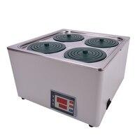 Hh 4 13l двойной цифровой дисплей Электрический Термостатический Водяной Бане 304 нержавеющая сталь Материал 220 В 50 Гц/110 В 60 гц