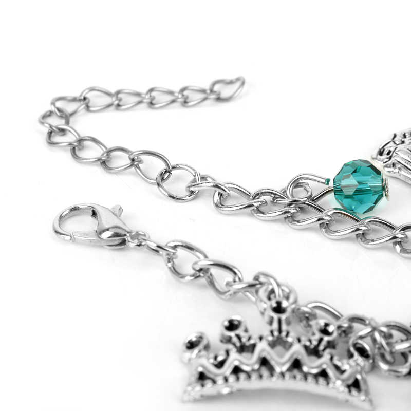 MQCHUN Белоснежка браслет мода один раз на время сказка ювелирные изделия кулон браслет из кристальных бусин браслет для женщин Девушка