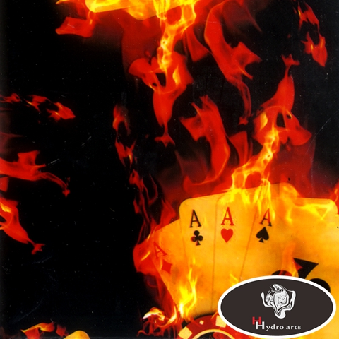 Free Shipping Flaming Fire Water Transfer Printing Hydrographics Film,50cm Wide,water Transfer Film HFY-939