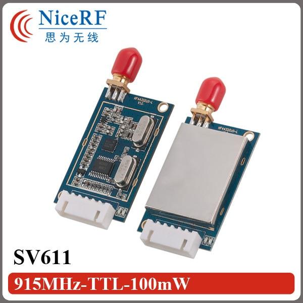 Ingyenes szállítás 2PCS SV611 915MHz TTL interfész vezeték - Kommunikációs berendezések - Fénykép 2
