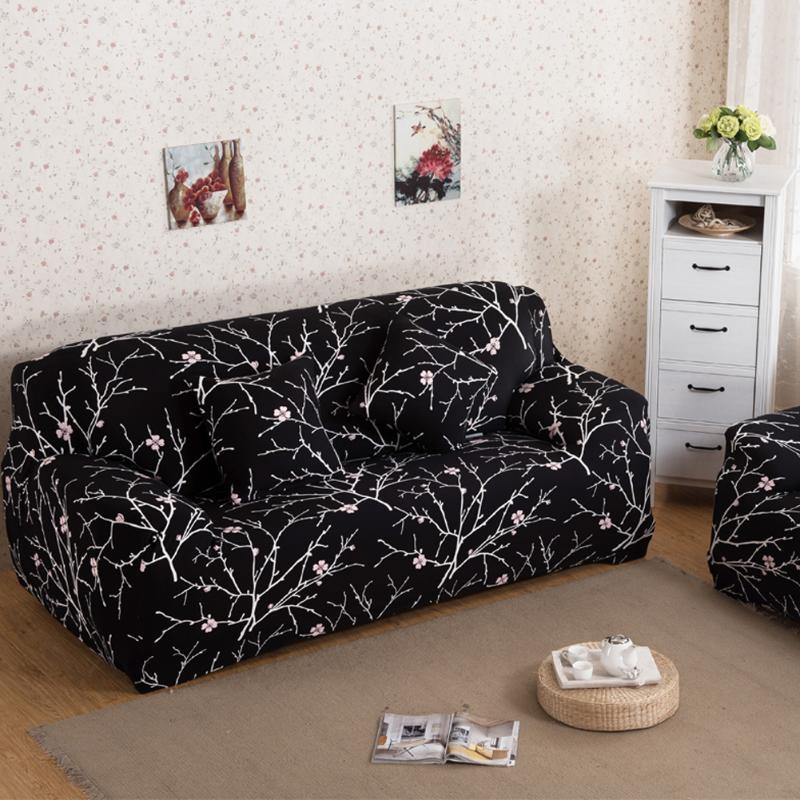 Новый диван-чехлов ткань Книги по искусству спандекс стрейч чехол Цветочный принт Чехлы для диванов эластичные Мебель диван Полотенца дива...