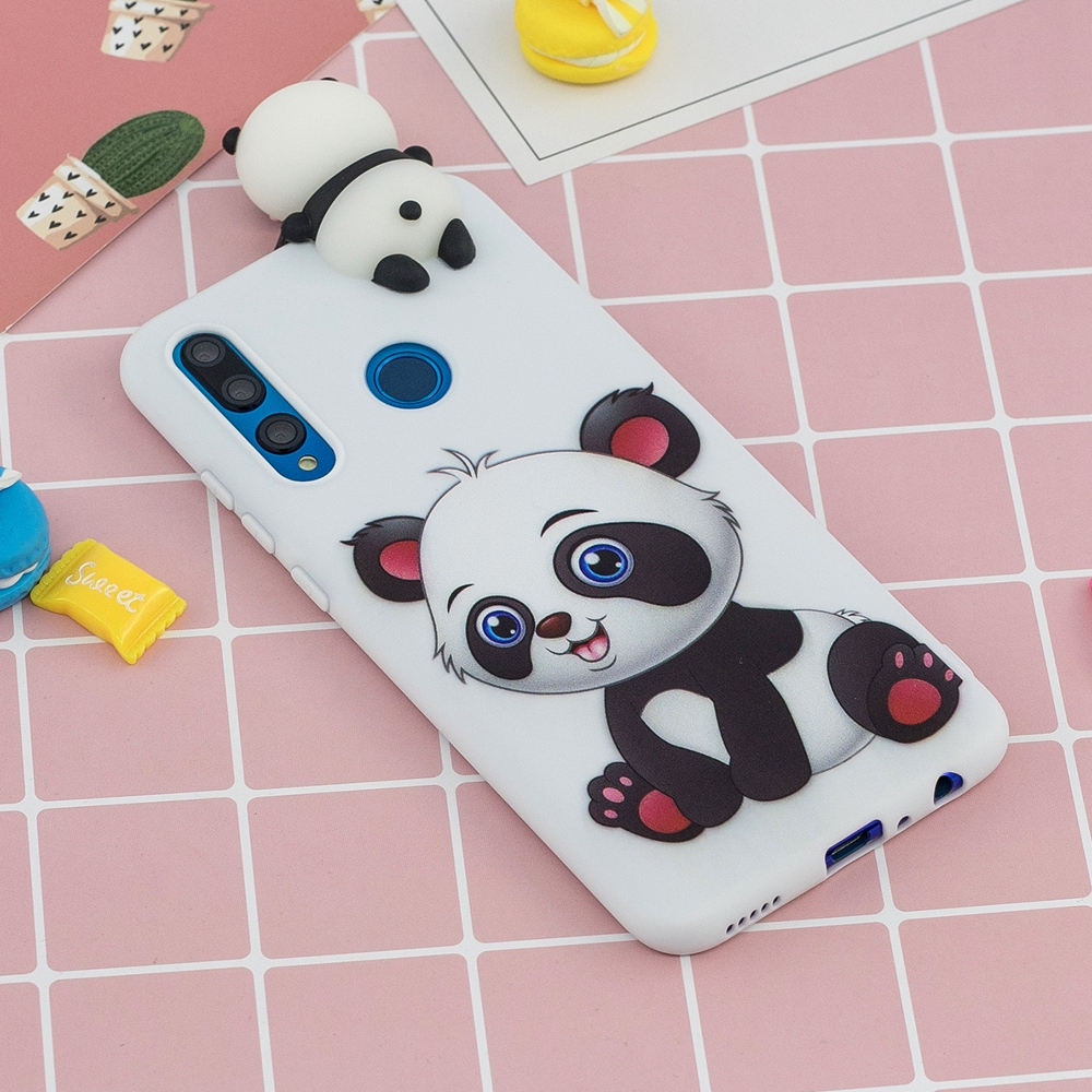 Etui Huawei Y5 Y6 Y7 Y9 Prime 2019 Cases 3D Kawaii Panda Unicorn Silicon Cover on for Funda Huawei Y5 Y6 Y7 Y9 (2019) Phone Case 2