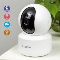 ATFMI HD720P облачная Беспроводная ip-камера ночного видения двухсторонняя аудио Домашняя безопасность CCTV сетевая камера с WiFi радионяня iCsee Onvif