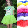 Wennikids Baby Skirt!girls Kids Tutu Skirt Princess Party Ballet Dance Wear Pettiskirt Dance Costume Ballet Tutu Free Shipping