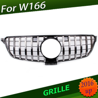 For Benz GLE W292 coupe W166 GT R AMG Grille GT R Grill For Benz C292 GLE COUPE AMG 63 2015+GLE 63S Without Emblem