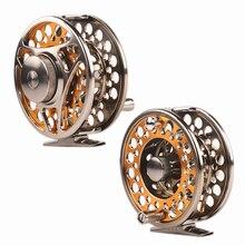 Lg85 full metal 3 shaft  line wt 5/6 fishing reel gear ratio 1:1 fly reel fly fishing fishing tackle