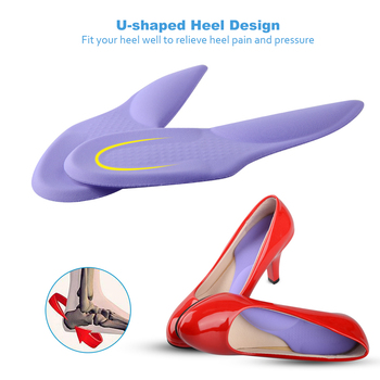 3/4 Length Orthopedic Arch Supports Shoe Insoles Heels Pads for Women High Heel Shoe Liners Shoes Sole Inserts Insole Pad efbaba silicone gel insole women shoe pad arch supports massage foot pad heel pain relief orthopedic shoes insoles accessoires