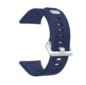 Image 4 - ZENHEO наручный ремешок для Fitbit ионизированный спортивный ТПУ силиконовый сменный ремешок на запястье для Fitbit ионизированные Ремешки для наручных часов