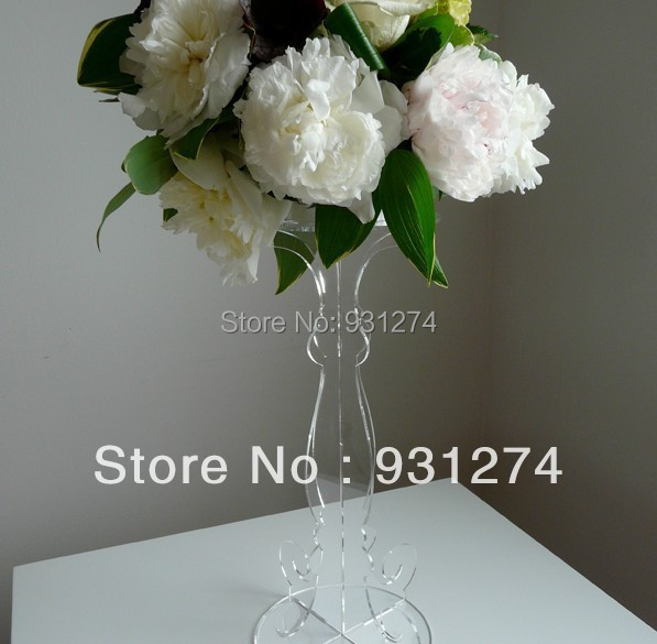 Elegant Tabletop Acrylic Pedestal/Acrylic Flower Stand/Home Decor/Acrylic Furniture acrylic desktop lectern acrylic church podiums acrylic pulpit church pulpit