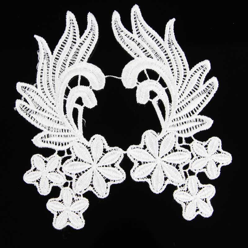 Off White Floral Lace Trim Sewing Craft Venise Lace Trim Wedding