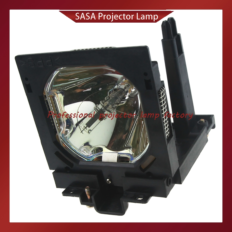 Replacement Projector Lamp POA-LMP80 Bulb with Housing for SANYO PLC-EF60, PLC-EF60A, PLC-XF60, PLC-XF60A compatible bare bulb poa lmp146 poalmp146 lmp146 610 351 5939 for sanyo plc hf10000l projector bulb lamp without housing