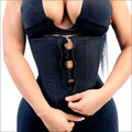 Corset Body Shaper Latex Waist Trainer Zipper Underbust Slim Tummy Waist Cincher Slimming Briefs Shaper Belt Shapewear Women
