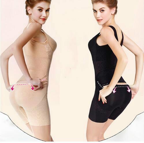 Más el tamaño 3XL nueva Mujeres sexy bra lift Body Cintura slimming body shapers control butt lift cintura Fajas espalda abierta Shaper