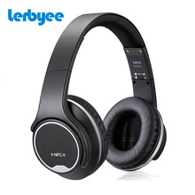 LERBYEE Bluetooth Headphone MH1 Stereo Earphone with Twist-out Speaker Wireless headset On-Ear 2 in1 Foldable headphones