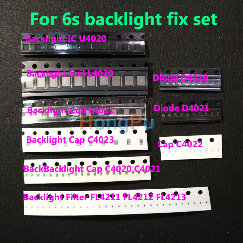 5set(50pcs)Backlight solutions Kit for IPhone 6 6Plus IC