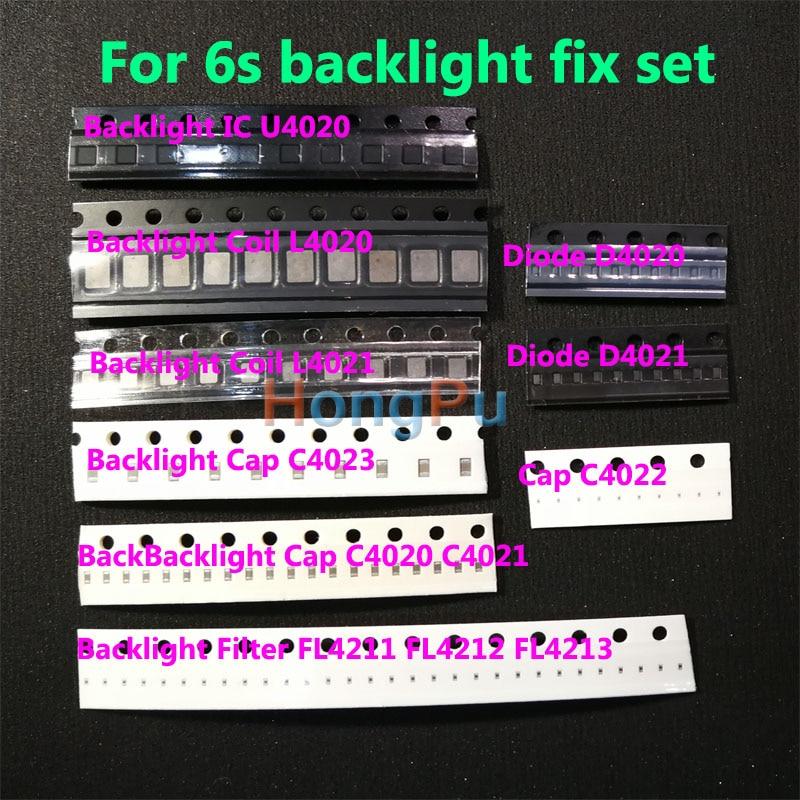 Backlight IPhone U4020 For 6s/Ic/U4020/.. Fix-Kit 5sets/Lot