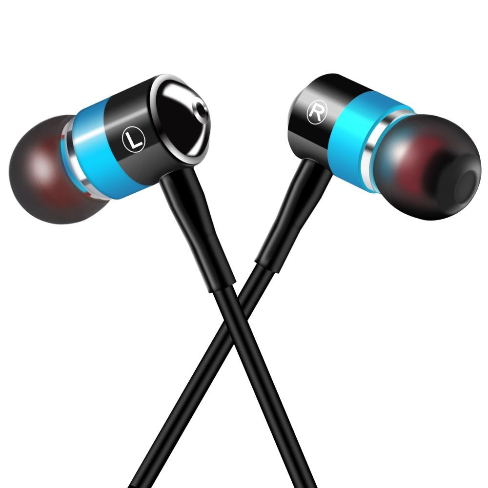 Original Earphones PTM G1 Stereo Metal Earbuds Brand 4 Colors