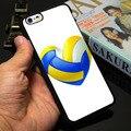 Волейбол Сердце Черный Телефон Чехол для iPhone 5S 5 SE 5C 4 4S 6 6 S 7 Плюс Крышка (ТПУ/Пластмасса для Выбора)