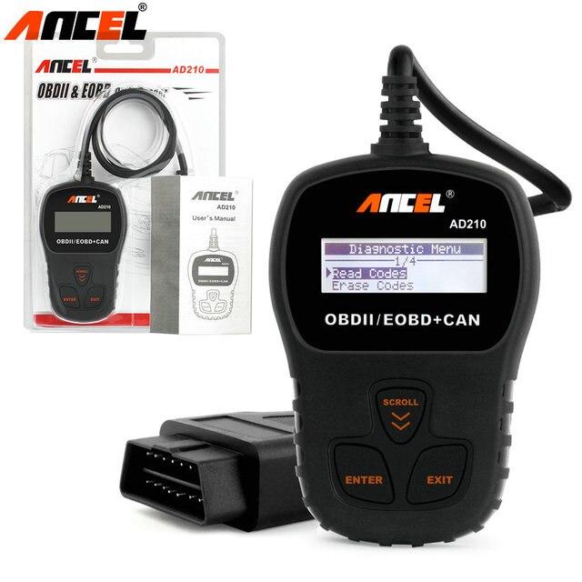Автомобильный Code Reader Работа для Мультибрендовый Автомобилей OBDII OBD авто OBD2 Сканер Многоязычная Автомобильный Диагностический Инструмент