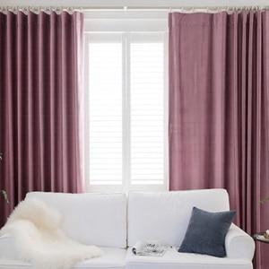 Image 3 - אירופה קטיפה Blackout וילונות לסלון חדר שינה כחול סגול מוצק וילונות חלון טיפול לילדים חדר מותאם אישית גודל