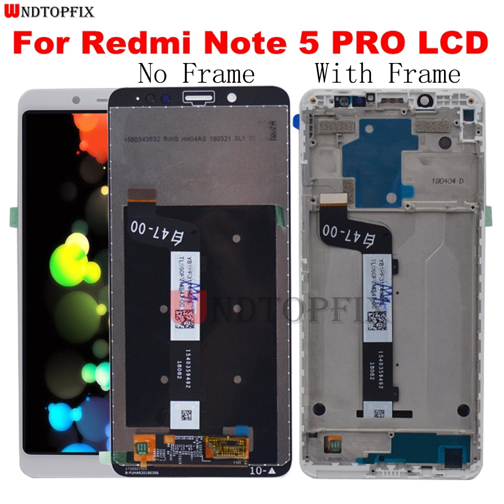 100% Tested For Xiaomi Redmi Note 5 Pro LCD Display Touch Screen Digitizer Repair with Frame For Redmi Note5 Pro LCD Assembly100% Tested For Xiaomi Redmi Note 5 Pro LCD Display Touch Screen Digitizer Repair with Frame For Redmi Note5 Pro LCD Assembly