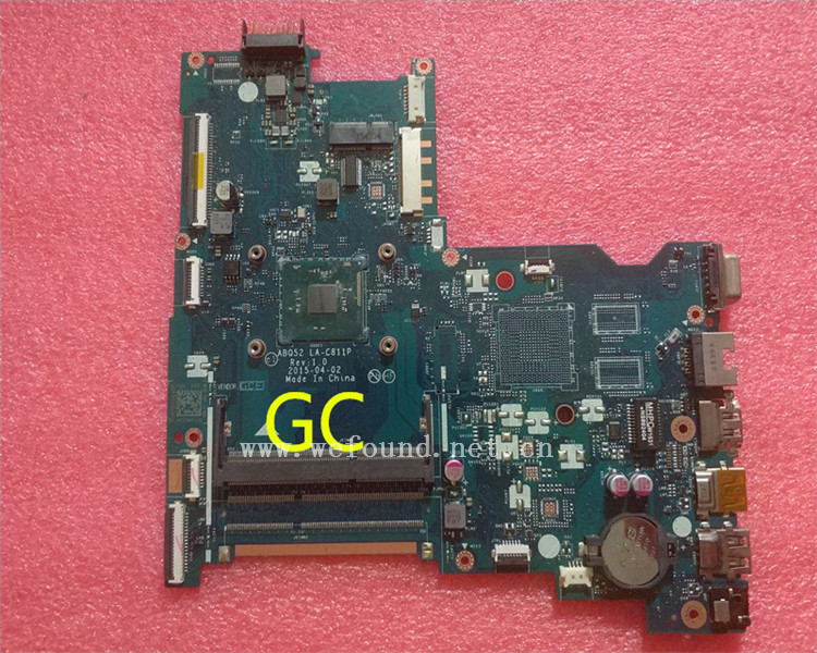 laptop Motherboard For 15-AC LA-C811P 815248-001 815248-501 system mainboard Fully Tested сковорода tefal tendance chocolate 26см 04147126