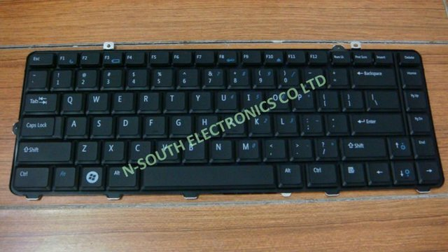 Wholesale new black  laptop keyboard for Dell Studio 1555 1557 series  laptop keyboard US layout